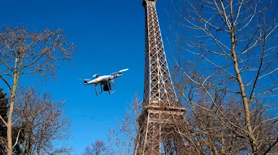 Paris is the first European capital to ban drones, why?