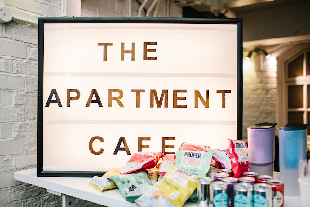 lfw the apartment cafe