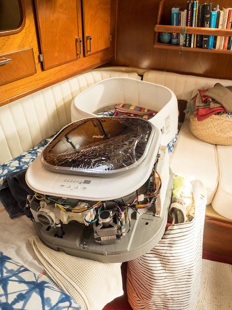 la nuova mini-lavatrice