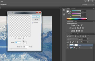 cara-membuat-refleksi-foto-di-photoshop