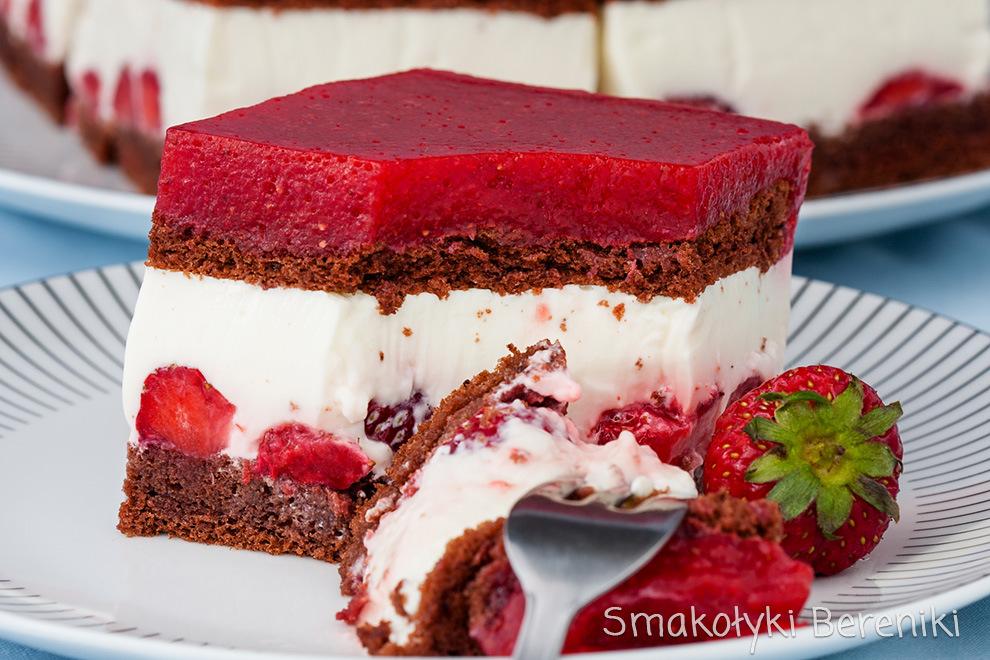 Ciasto jogurtowo-truskawkowe