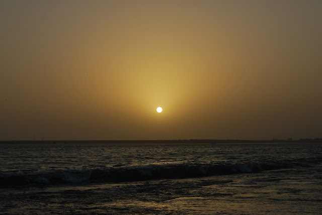 Sunset beach @ porbandar