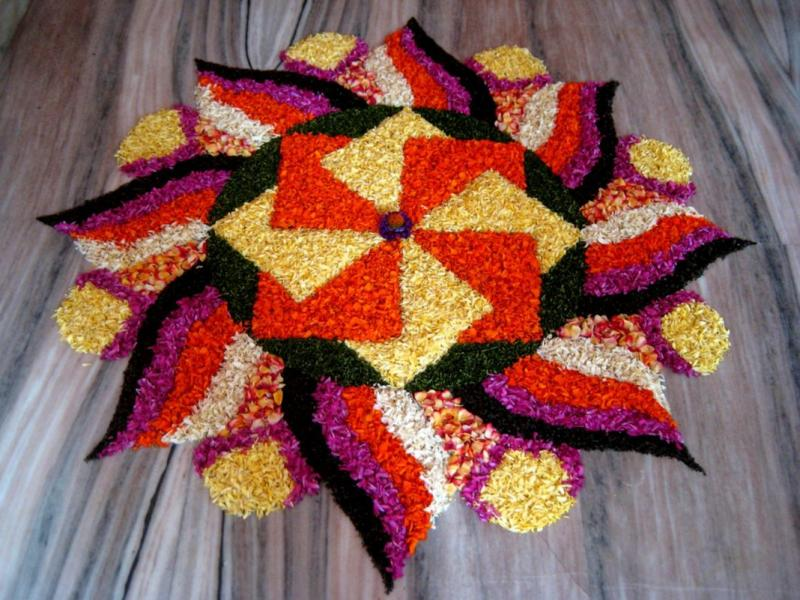 25 Beautiful Rangoli Designs For Diwali 2018
