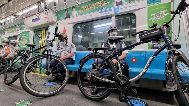 MRT Jakarta Raih Rekor Muri Penyedia Fasilitas Sepeda Terbanyak