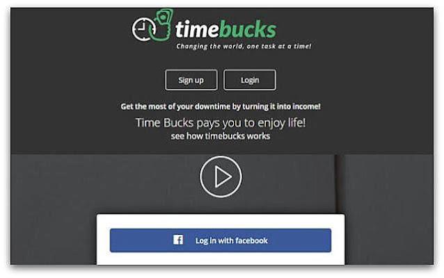 Zarobki w TimeBucks (wypłacalne strony, ankiety, oglądanie reklam).