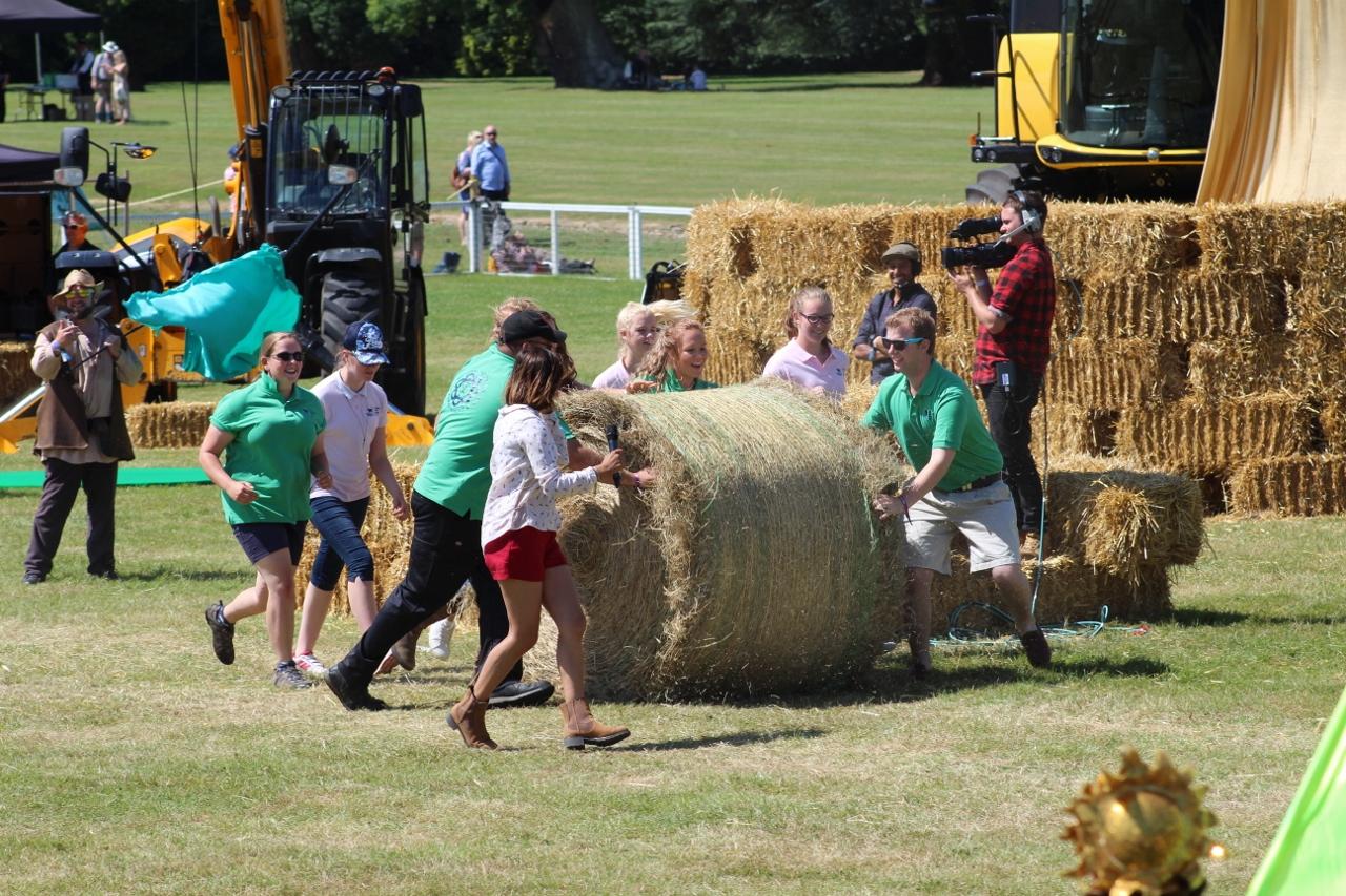 Countryfile Live Anita Rani and Oxford Young Farmers