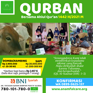 Qurban Bersama Ahlul Quran