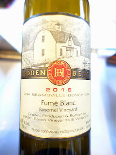 Hidden Bench Fumé Blanc 2016 (91 pts)