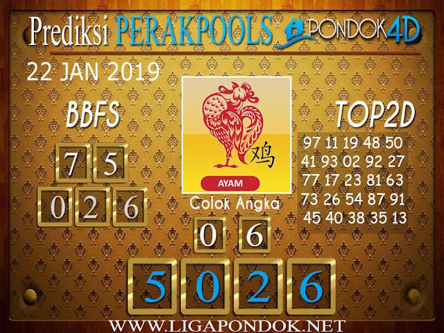 Prediksi Togel PERAK PONDOK4D 22 JANUARI 2019