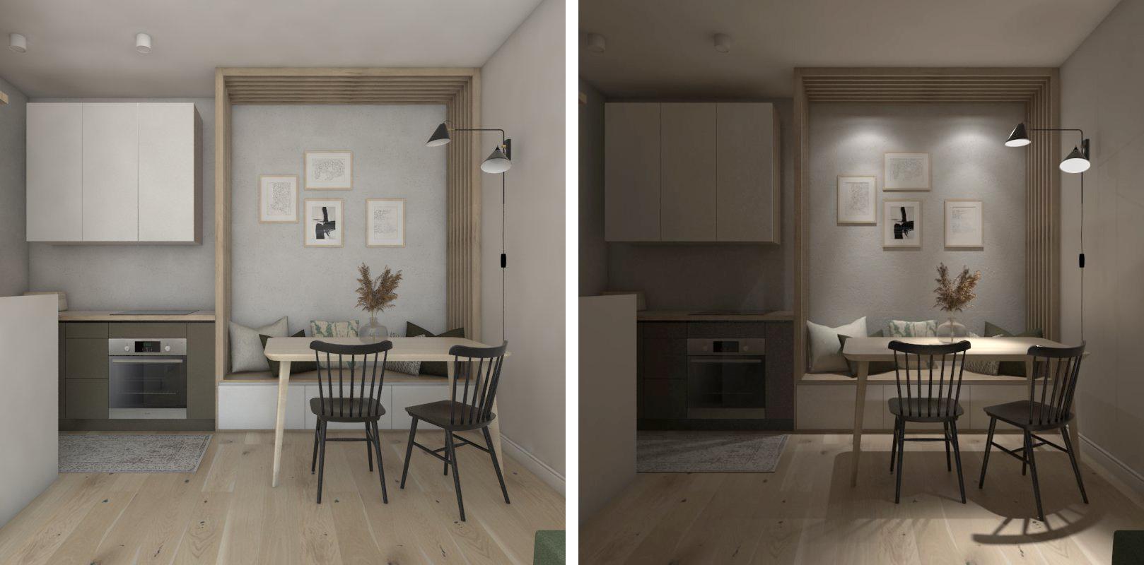 kuchnia w malym mieszkaniu