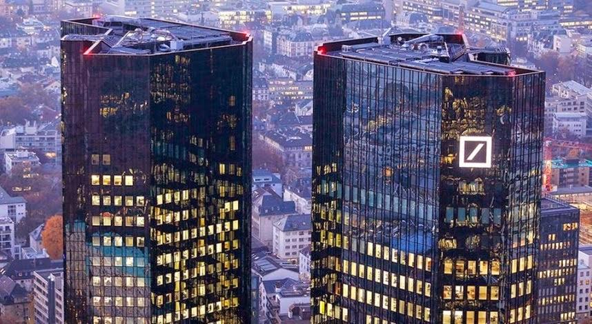 """Φόβοι για παγκόσμιο κραχ μετά το """"μίνι-κραχ"""" της Deutsche Bank στο ταμπλό!"""
