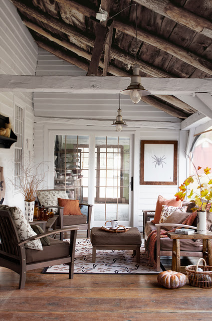 Autumn Living Room Decorating: The Grower's Daughter: Inspirations