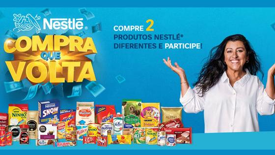 Promoção Compra que Volta Nestlé