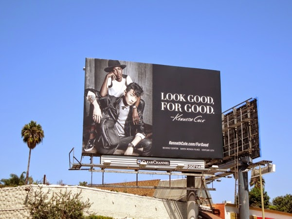 Kenneth Cole Look good For Good billboard