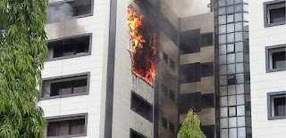 Nigerians Call For Probe Of AGF Office Fire Incident
