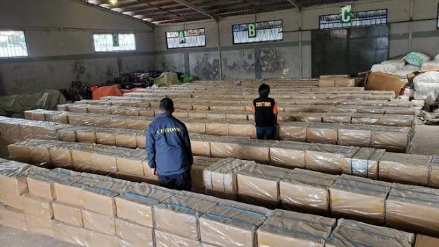 WOW! Rokok Ilegal yang Diselundupkan Di Perairan Riau Nilainya Rp.7.6M