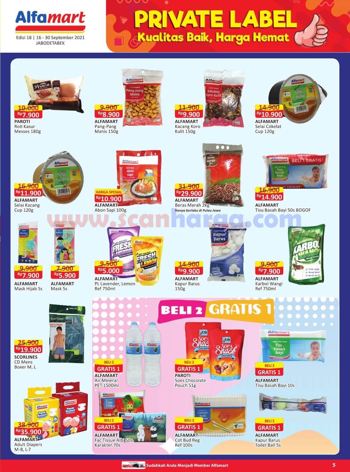 Katalog Promo Alfamart 16 - 30 September 2021 5