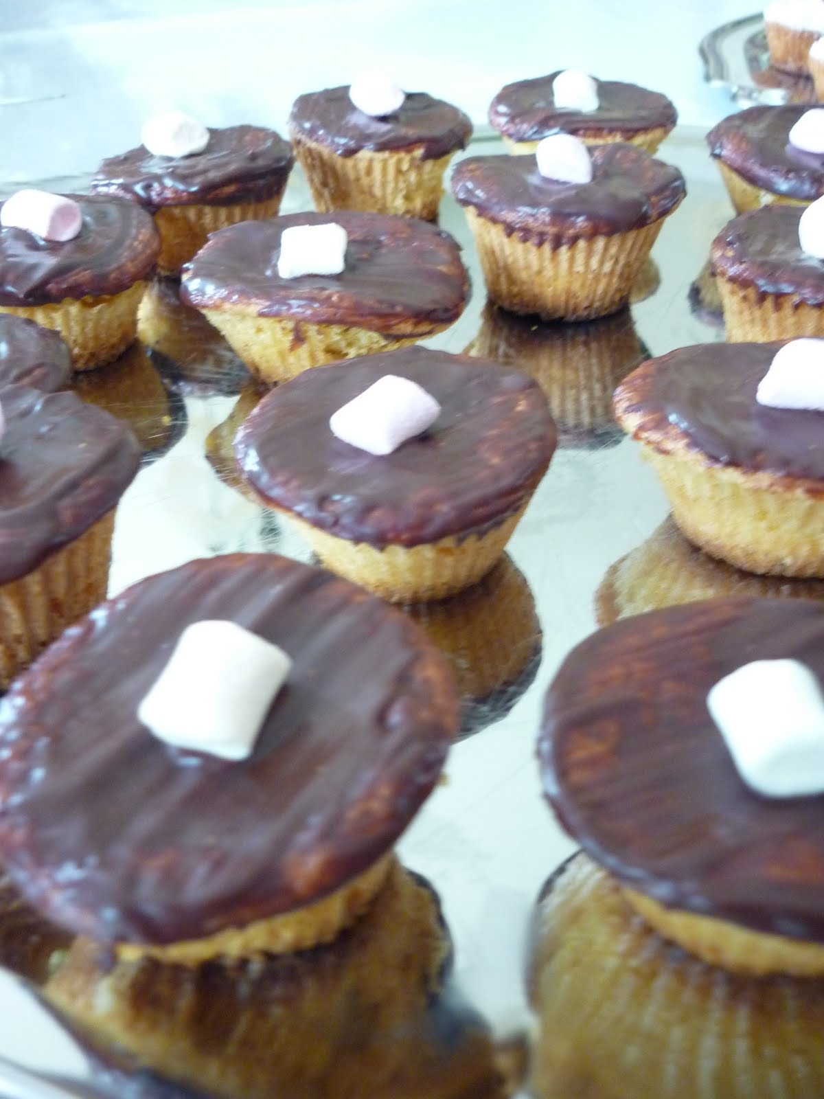 Cup Cake Recette Nappage Chocolat Blanc