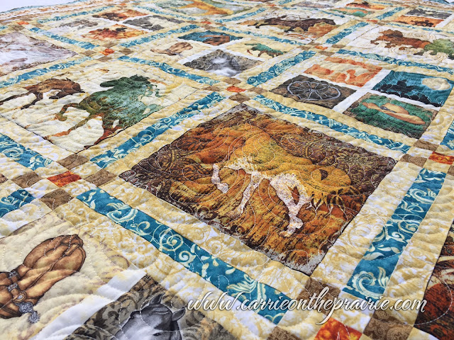 http://carrieontheprairie.blogspot.ca/2017/05/teal-and-bronze-cowboy-quilt.html