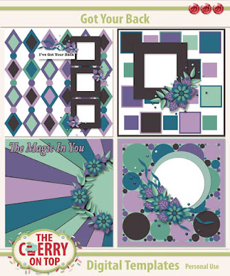 A Love For Layout Templates Blog Train of Freebies and a Sale, too!