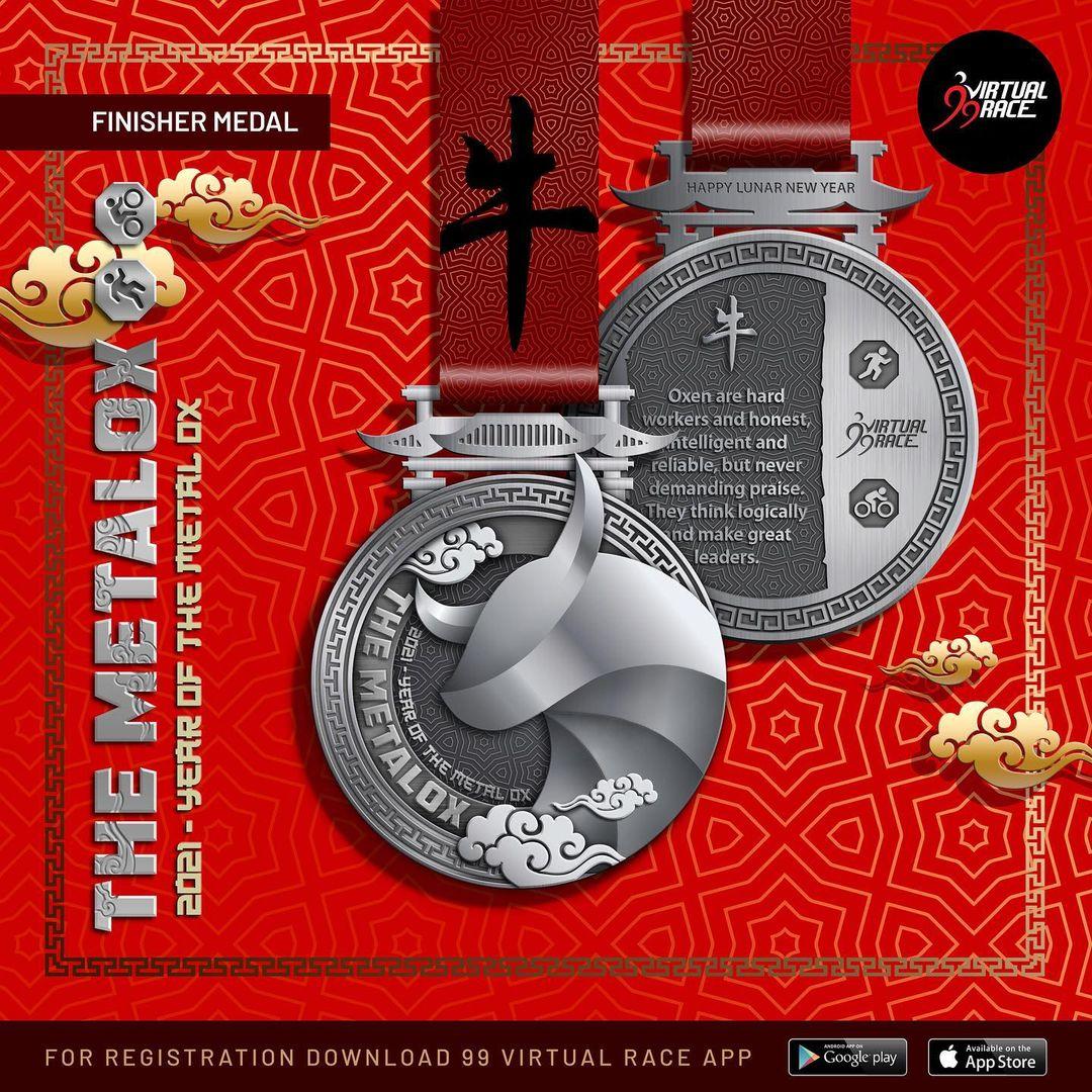 Medal 🏅 The MetalOx Race • 2021