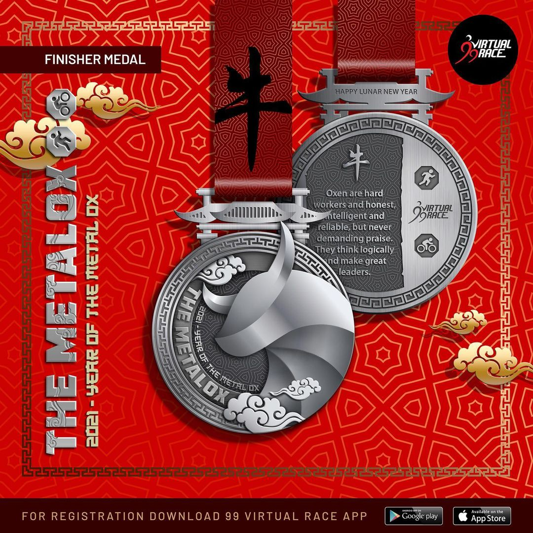 Medal � The MetalOx Race • 2021