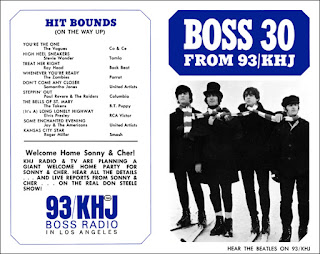 KHJ Boss 30 No. 7 - The Beatles