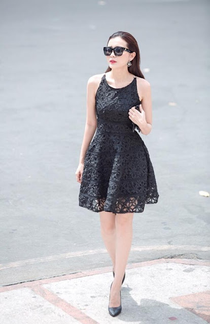 phong cách ăn mặc sang trọng tối giản