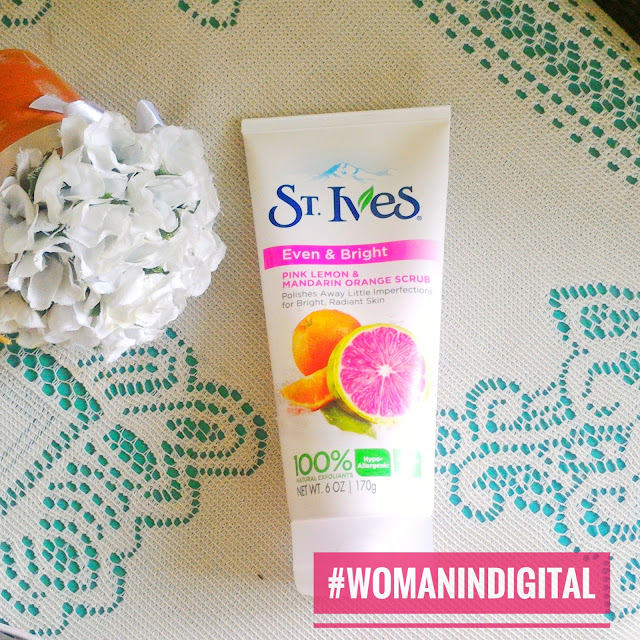 St. Ives Natural Exfoliant available at Watsons.