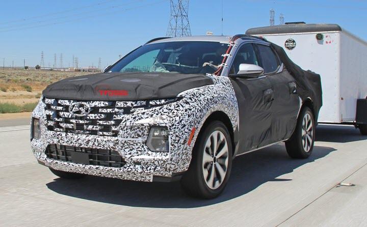 Hyundai Santa Cruz khéo khoe sức kéo trước ngày ra mắt