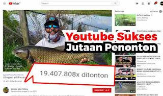 Youtuber Sukses Dapat Viewer Jutaan