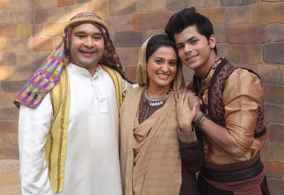 Ammi, Ginoo and Aladdin on Sony SAB's Aladdin Naam Toh Suna Hoga