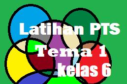 Soal UTS/ PTS Tema 1 Kelas 6 Semester 1 dengan Kunci Jawaban