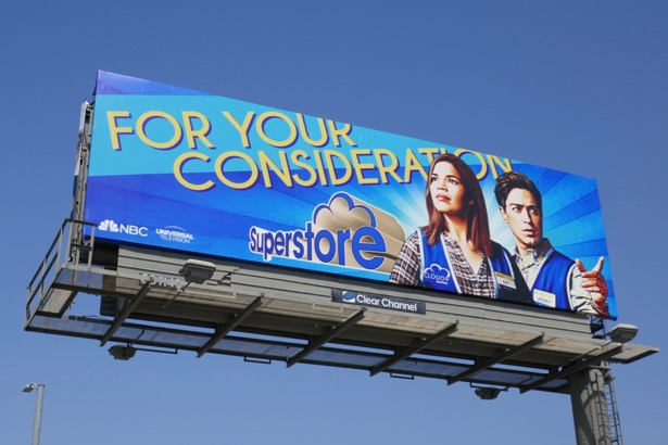 Superstore season 4 Emmy FYC billboard