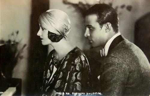 Rudolph Valentino & Natacha Rambova