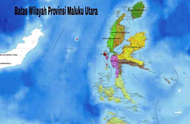Batas Wilayah Maluku Utara