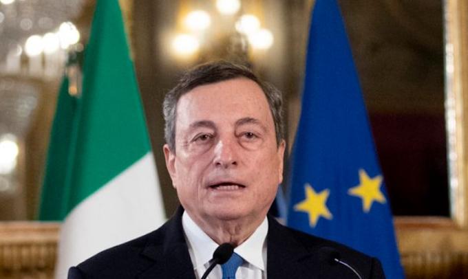 Monitor Italia: consenso Draghi al 61,4%, risale Conte