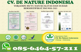 LEGALITAS PRODUK HERBAL DE NATURE