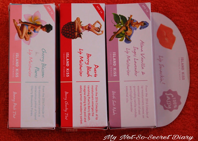 My Island Kiss Lip Moisturisers Review
