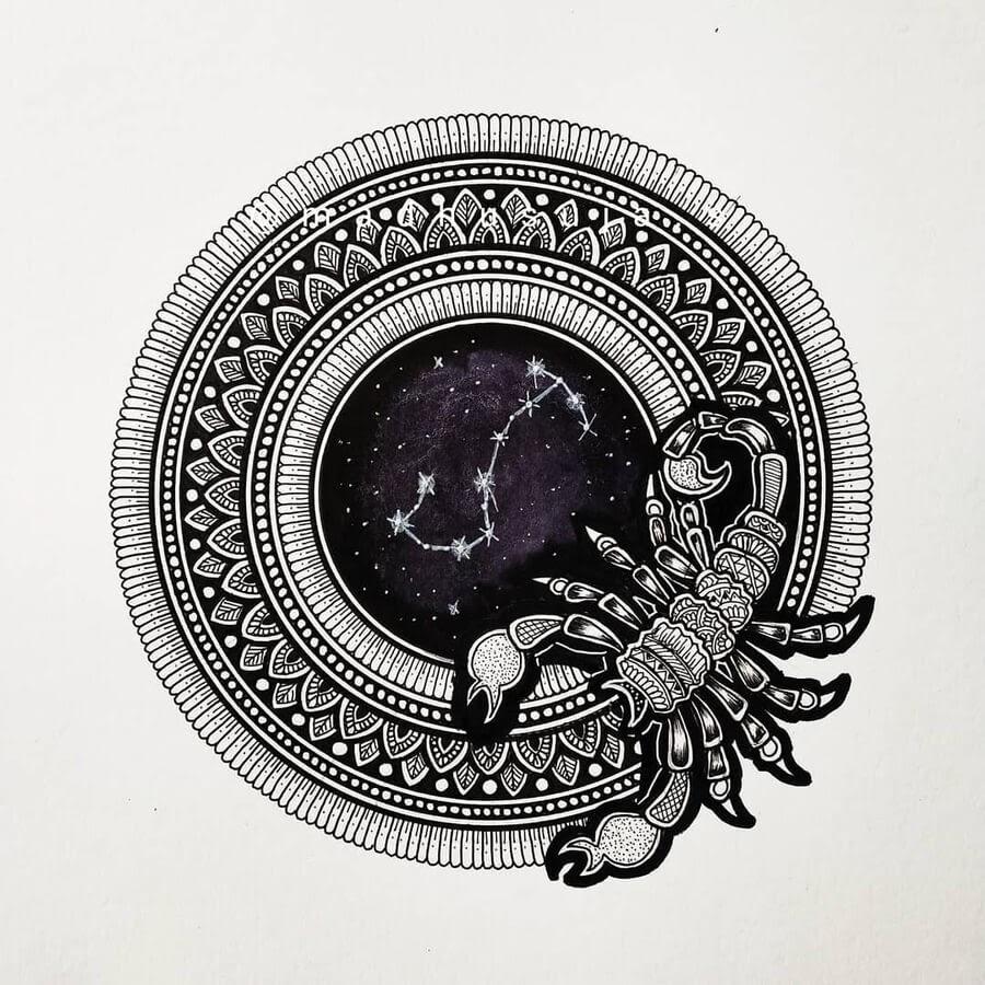 08-Zodiac-sign-Scorpio-Madhusuja-www-designstack-co