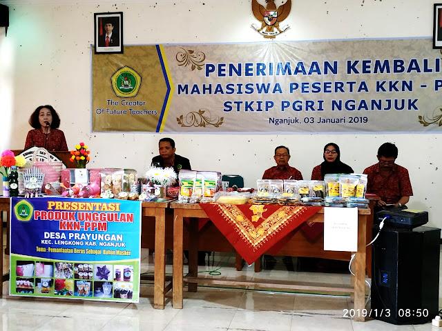Akhiri Program KKN 2018 di Kecamatan Lengkong dan Gondang, Mahasiswa Sukses ciptakan Prpduk Unggulan