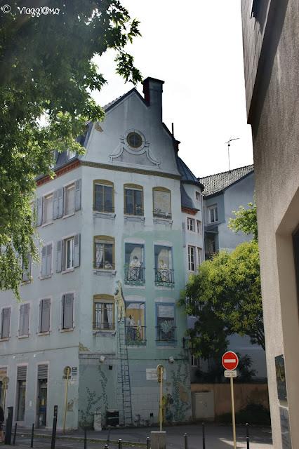 Mulhouse - Trompe l'oeil