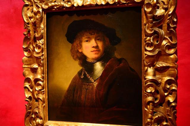Rembrandt - Autoportrait jeune - 1634