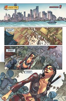 Comics - Danger Girl - A la poursuite d'une femme ninja tatouée