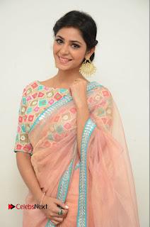 Actress Priyanka Bharadwaj Pictures in Saree at Mister 420 Press Meet  0008.JPG
