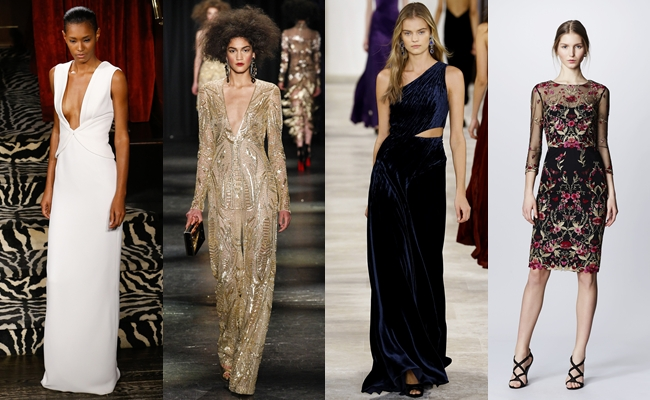 Best of New York Fashion week fall 2016.Fall 2016:Brandon Maxwell,Naeem Khan,Ralph Lauren.Marchesa Notte.