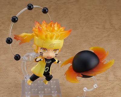 Figuras: Adorable nendoroid de Naruto en Modo Sabio de los seis caminos - Good Smile Company
