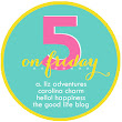 Five on Friday! 10/17
