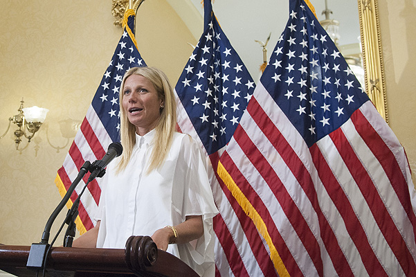 Gwyneth Paltrow performed at the United States Capitol