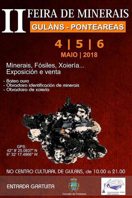 quality design a4e4b 2a552 II Feria de Minerales de Guláns-Ponteareas 2018